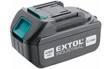 Baterie akumulátorová 18V, Li-ion, 4000mAh EXTOL-INDUSTRIAL