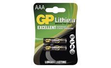 Baterie GP lithiová HR03 (AAA) 2 kusy
