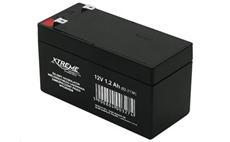 Baterie olověná 12V / 1,2Ah XTREME bezúdržbový gelový akumulátor