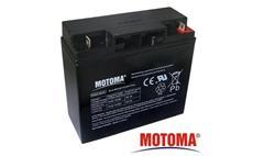 Baterie olověná 12V / 17Ah MOTOMA bezúdržbový akumulátor