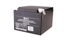 Baterie olověná 12V / 26Ah EMOS bezúdržbový akumulátor L2