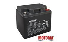 Baterie olověná 12V / 40Ah MOTOMA bezúdržbový akumulátor