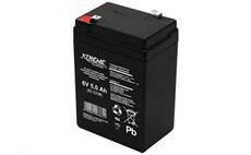 Baterie olověná 6V / 5,0Ah XTREME bezúdržbový gelový akumulátor