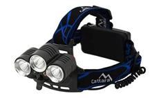 Čelovka Cattara 13125 LED 400lm (1x XM-L+2x XP-E)