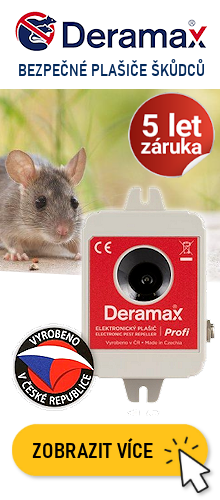 Deramax plašiče a odpuzovače škůdců