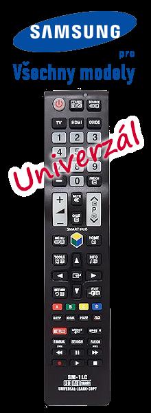 Univerzální dálkový ovladač k televizoru Samsung