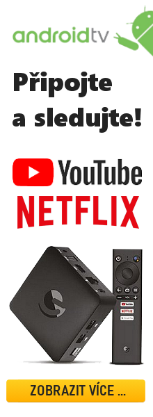 Android TV box Netflix YouTube HBO GO, Lepší.TV, Skylink Live TV