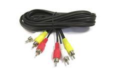 Kabel 3x CINCH - 3x CINCH 1,5m