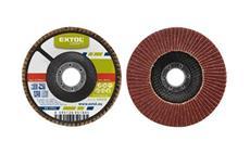 Kotouč lamelový šikmý korundový, P100, 125mm, KORUND EXTOL-CRAFT