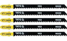 List pilový do přímočaré pily 115 mm na dřevo TPI8 5 ks YT-3409