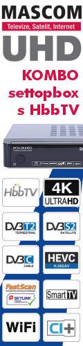 Mascom UHD 4K HbbTV settopbox