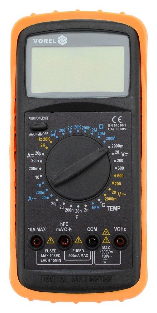 Multimetr digitální VOREL TO-81784