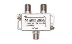 Odbočovač FAC1-10 1xF - 2xF, 5-1000 MHz, 20dB