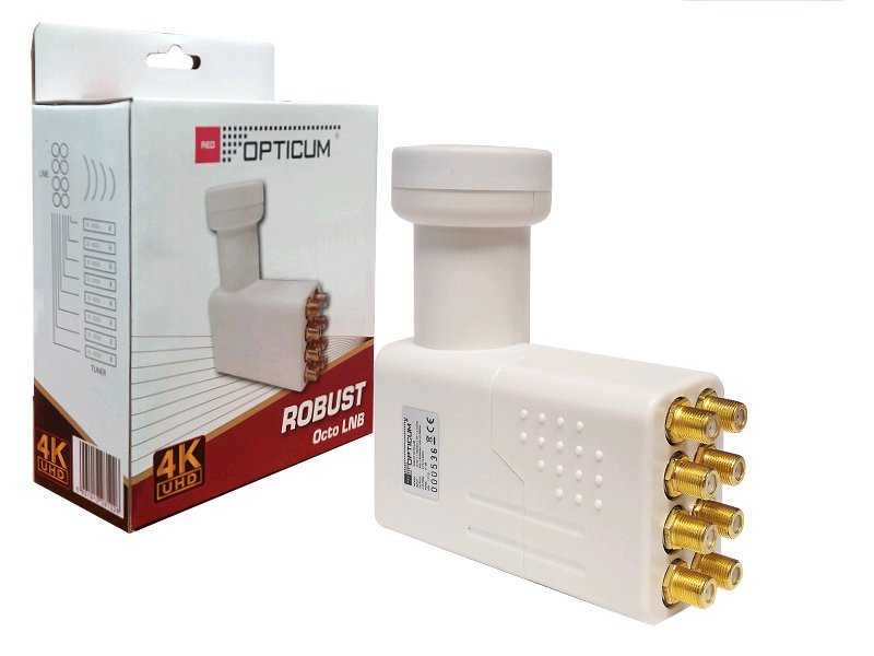 Opticum Robust KON0030 Octoblok LNB 0,1dB