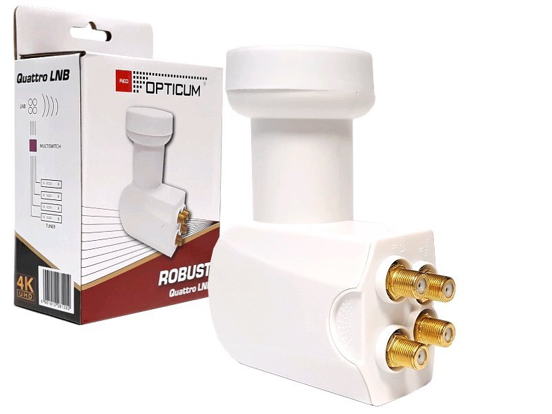 Opticum Robust Quattro LNB 0,1 dB
