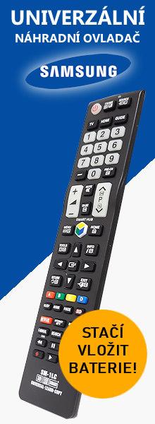 Dálkový ovladač k televizi Samsung