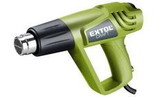 Pistole horkovzdušná s příslušenstvím, 2000/1000W, 550/350°C EXTOL-CRAFT