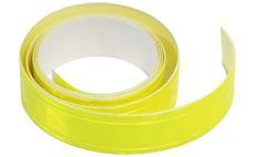 Reflexní páska samolepící 2cm x 90cm žlutá