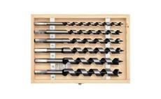 Sada hadovitých vrtáků do dřeva 10,12,14,16,18,20 délka 230mm