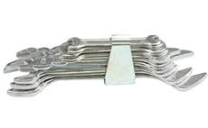 Sada klíčů plochých 10 ks 6 - 32 mm spona