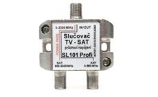 SAT + TV slučovač SL101 PROFI