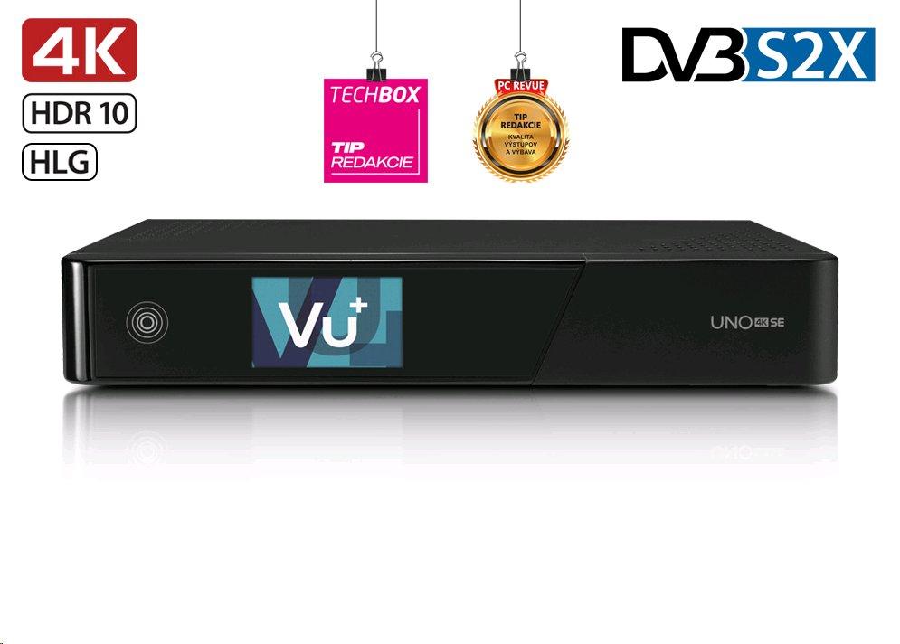 Vu+ UNO 4K SE (1x dual DVB-S2X FBC)