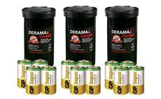 Výhodné balení 3ks Deramax CVRČEK + alkalické baterie R20